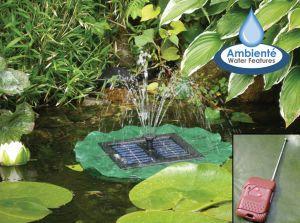 Garden pond pump fountain