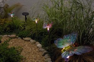 Solar Butterfly Garden Lighting