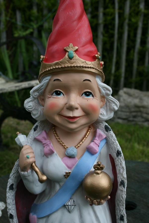 Queen Elizabeth Jubilee Garden Gnome