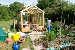 Jackie's Greenhouse in Garden