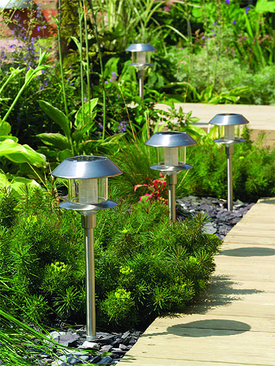 Garden Solar Post Lights