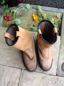 Lucy's Garden Rigger Boots