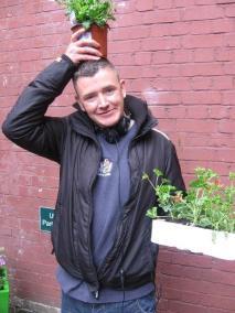 Flowerpot man Keith