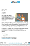 wateraid letter
