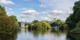 St James's Park Lake – East from the Blue Bridge