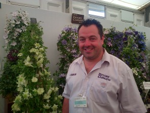 Chris from Taylors Clematis.