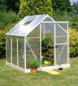 Lacewing Deluxe Cream Aluminium Frame Greenhouse