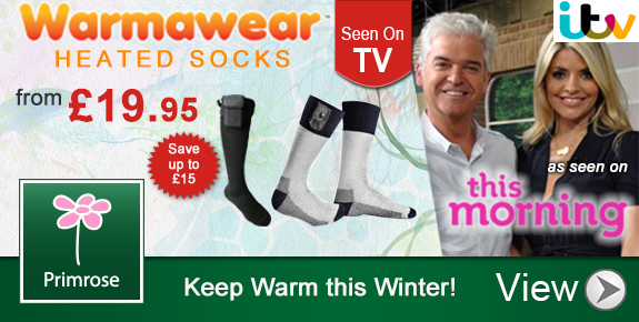 Heated Socks on ITV's This Morning