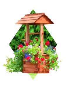 Wishing Well Planter
