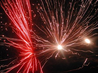 Fireworks on Bonfire Night