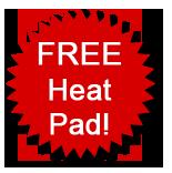 Free heat pad!