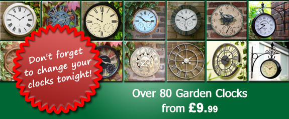 Garden Clocks at Primrose