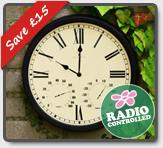 Radio Controlled Multi function Clock