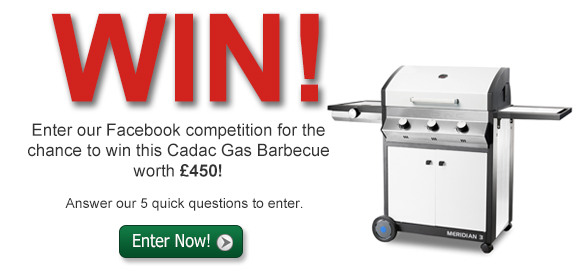Win a Cadac Gas BBQ worth £450!